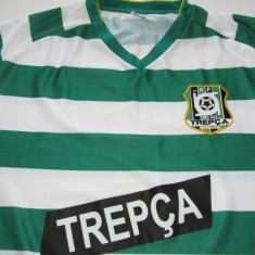Tricou (F. RAR) fotbal - KF TREPCA MITROVICE (Serbia - Kosovo) - Tricou echipa fotbal, Marime: L, Culoare: Din imagine, De club, Maneca scurta