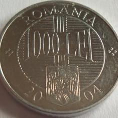 Moneda 1000 Lei - ROMANIA, anul 2004 *cod 1000 ALLU. - Moneda Romania, Aluminiu