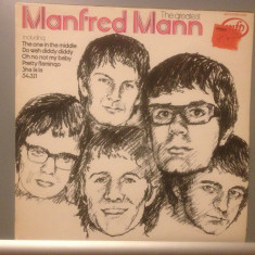 MANFRED MANN - THE GREATEST (1966/ EMI REC/ENGLAND) - Vinil/IMPECABIL/VINYL - Muzica Rock emi records