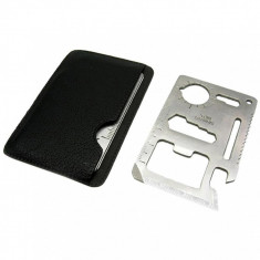 Nou Super Cadou Card Multifunctional 9 functii Survival Otel Stainless Paste