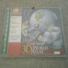 PC CD-ROM - 3D World Atlas - Deluxe Compton's (GameLand )