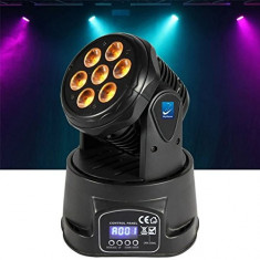 NOU 2016! MOVING HEAD DE PUTERE MARE CU 7 LEDURI x 8 WATT RGBW, LUMINA DISCO LED. - Moving heads club