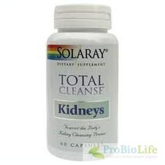 TOTAL CLEANSE KIDNEYS 60CPS-Infectii urinare, E-coli - Produs tratarea infectiilor urinare