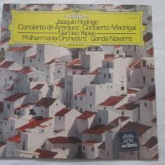 Joaquín Rodrigo - Concierto De Aranjuez · Concierto Madrigal _ vinyl Germania