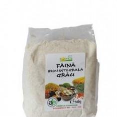 FAINA DE GRAU SEMI INTEGRALA BIO 500GR LONGEVIVA