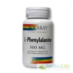L-PHENYLALANINE 500MG 60CPS-Circulatie cerebrala - Supliment sport
