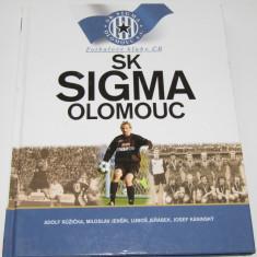 Carte fotbal istoria clubului SK SIGMA OLOMOUC (Cehia)
