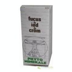 FUCUS+IOD+CROM 60CPS-Glicemie, tiroida, reglarea tranzitului