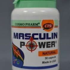 MASCULIN POWER 30CPS COSMO PHARM -Potenta - Remediu din plante
