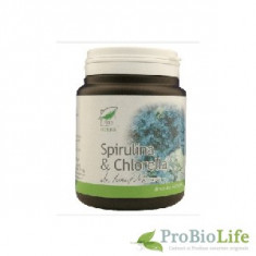 SPIRULINA+CHLORELLA 150CPS - Dieta