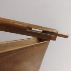 Tabachera din lemn, lucrata manual.Oferta! - Tabachera veche
