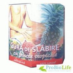 CURA DE SLABIRE TROPICALA 168CPR - Produs de Slabit
