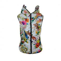 Vesta Adidas Originals, de Dama, Alba, Inflorata, Toate Masurle F267 - Vesta dama, Marime: L, XL