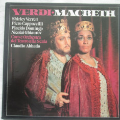 Verdi - Macbeth _ vinyl(3 LP Box) Germania - Muzica Opera Altele, VINIL