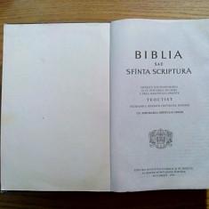 BIBLIA sau SFINTA SCRIPTURA - Institutului Biblic al Biserici Ortodoxe, 1995