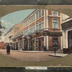 GALATI, STRADA DOMNEASCA, CIRCULATA JUL.''913 - Carte Postala Moldova 1904-1918, Tip: Printata