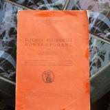 ISTORIA FILOSOFIEI CONTEMPORANE