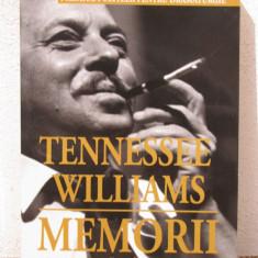 MEMORII ALE UNUI BATRAN CROCODIL-TENNESSE WILLIAMS - Biografie