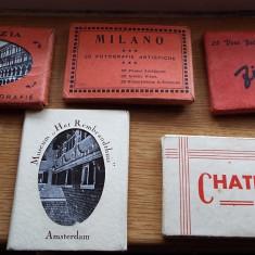 Fotografii vederi vechi Milano, Venezia, Firenze - Carte postala tematica, Necirculata, Fotografie