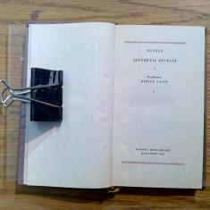 JEVGENYIJ ANYEGIN ( Evgheni Oneghin) - A. S. Puskin - 1959, 252p.; lb. maghiara