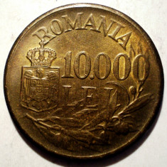 B.307 ROMANIA MIHAI I 10000 LEI 1947 XF - Moneda Romania, Alama