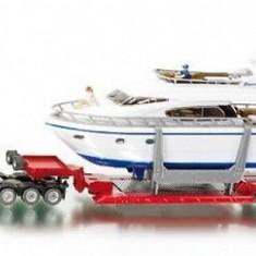 Macheta Heavy transporter with Yacht  - SIKU - scara 1:87
