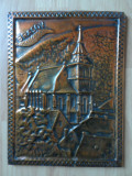 Metaloplastie, realizata manual pe tabla de cupru, Biserica Neagra - Brasov