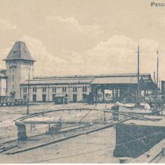 GALATI, PESCARIILE STATULUI - Carte Postala Moldova dupa 1918, Necirculata, Printata
