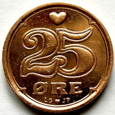 DANEMARCA - REGAT, 25 ORE 1999, FRUMOASA !!!, Europa, Cupru (arama)