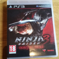 JOC PS3 NINJA GAIDEN 3 RAZOR's EDGE ORIGINAL / by WADDER - Jocuri PS3 Altele, Actiune, 18+, Single player