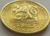 Moneda 20 Haleru - CEHOSLOVACIA, anul 1985 *cod 2011 a.UNC, Europa