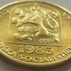 Moneda 20 Haleru - CEHOSLOVACIA, anul 1985 *cod 2011 a.UNC