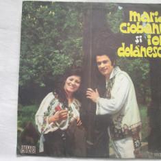 Maria Ciobanu și Ion Dolănescu – Maria Ciobanu și Ion Dolănescu _ vinyl(LP) - Muzica Populara Altele, VINIL