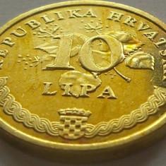 Moneda 10 Lipa - CROATIA, anul 2007 *cod 1895 UNC