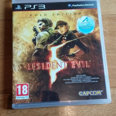JOC PS3 RESIDENT EVIL 5 GOLD EDITION ORIGINAL / by WADDER - Jocuri PS3 Capcom, Shooting, 18+, Multiplayer