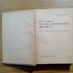 ISTORIA CINEMATOGRAFULUI MONDIAL - Georges Sadoul - 1961, 671 p.