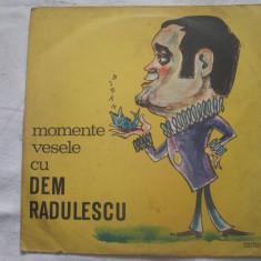 Dem Rădulescu – Momente Vesele Cu Dem Rădulescu _ vinyl(LP) Romania non music