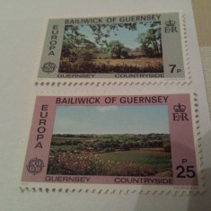 Anglia/guernsey 1977 natura/serie MNH - Timbre straine, Nestampilat