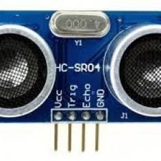 senzor ultrasonic distanta HC-SR04 arduino avr pic stm arm