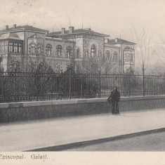 GALATI, PALATUL EPISCOPAL, CIRCULATA SEP.''911 - Carte Postala Moldova 1904-1918, Tip: Printata