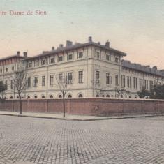GALATI   INSTITUTUL  NOTRE  DAME  DE  SION   CIRCULATA  1907, Printata