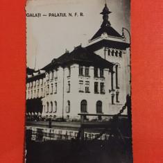Galati - Palatul NFR - Carte Postala Muntenia 1904-1918, Circulata, Fotografie