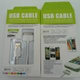 Cablu date USB 1,5 metri iPhone 3GS / 4GS