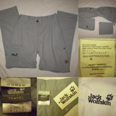 Pantaloni Jack Wolfskin dama NOI (40) munte tura outdoor tehnici trecking - Pantaloni dama, Culoare: Din imagine