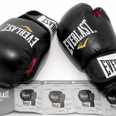 Manusi de box pentru antrenament Everlast Seria 6000 - 12 oz - Manusi box