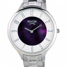 Ceas Boccia dama cod 3240-04 - pret 579 lei (Nou, original) - Ceas dama Boccia, Casual, Quartz, Titan, Analog