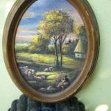 Ulei pe panza - Pictor roman, Natura, Impresionism