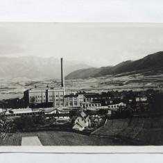 ZARNESTI-FABRICA DE CELULOZA-CARTE POSTALA ANII 30, Necirculata, Fotografie