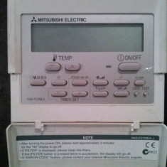 Telecomanda aer conditionat marca MITSUBISHI ELECTRIC, MODEL DUCT