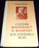 Cultura romaneasca in Basarabia sub stapanire rusa - Stefan Ciobanu, ilustratii